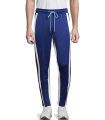 puma men's trackstar jogger pants - blue - size l