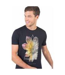 camiseta taco botanical masculina