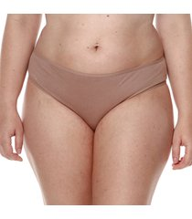 calcinha alta cavada nozes pima - 552.022 marcyn lingerie alta bege
