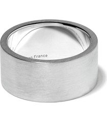 le gramme le 15 grammes ribbon ring - silver