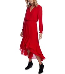 1.state smocked high-low dress