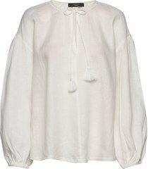 calotta blouse lange mouwen crème weekend max mara