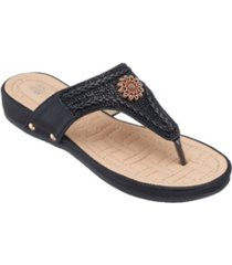 gc shoes colleen thong sandal women's shoes