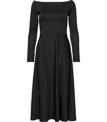 benedicte jacq. dress jurk knielengte zwart residus