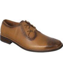 zapato formal pierre d'agostiny para hombre, ref oxford miel