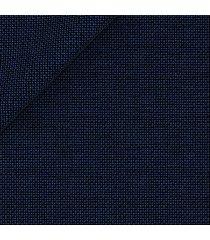 abito da uomo su misura, loro piana, natural stretch blu scuro microdesign, quattro stagioni | lanieri