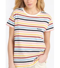 barbour saltwater cotton striped top