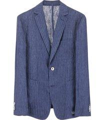 cc collection corneliani pinstriped jacket