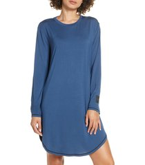 women's chalmers wednesday sleep shirt, size xx-large - blue