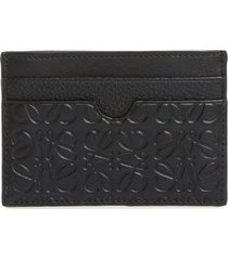men's loewe puzzle leather card case -