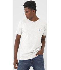 camiseta yachtsman logo cinza