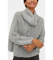 mango cowl neck sweater