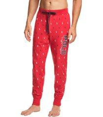 polo ralph lauren men's logo-print jogger pajama pants
