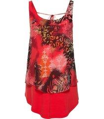 maglia fantasia (rosso) - bodyflirt boutique