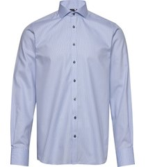 bs holding skjorta business blå bruun & stengade