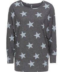 maglia con stelle (grigio) - rainbow