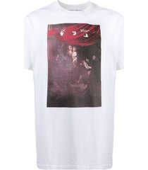 sprayed caravaggio short-sleeve slim tee