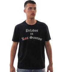 camiseta mamonas assassinas los santos preta - kanui