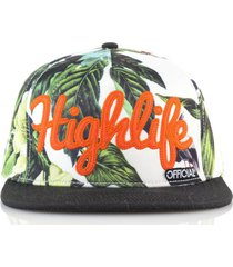 gorra negra official highlife tropical