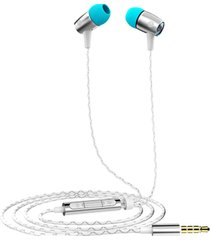 audifonos in-ear alámbricos huawei honor am12plus - plata