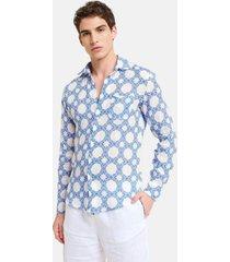 peninsula swimwear shirt scoglio palomba linen