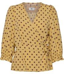 blouse blus långärmad gul noa noa