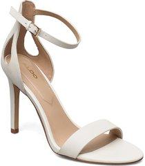 violla sandal med klack vit aldo