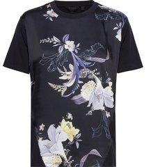 debra t-shirts & tops short-sleeved blå ted baker