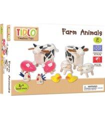 bigjigs toys wooden farm animals