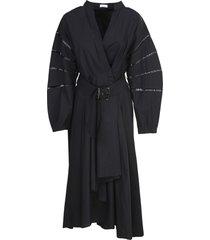 dress, black, brunello cucinelli
