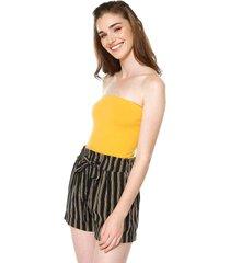 blusa body amarillo ambiance
