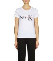 camiseta nyck  classic slim tee calvin klein