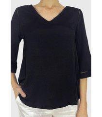 blusa  negro liola