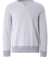merz b schwanen tr348 men's sweatshirt | grey melange | tr348.0380