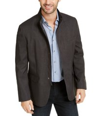 alfani men's kenneth textured jacket, created for macy's
