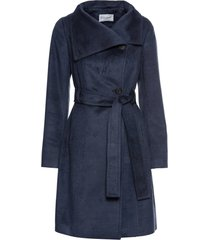cappotto corto con cintura (blu) - bodyflirt