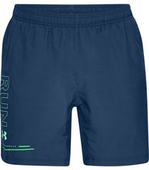 korte broek under armour speed stride graphic 7'' woven short 1326569-437