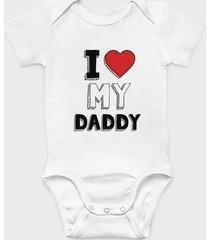 body dziecięce i love my daddy