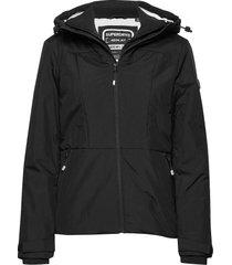 aeon jacket zomerjas dunne jas zwart superdry