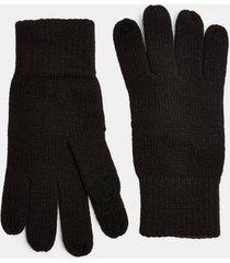 mens black touchscreen gloves