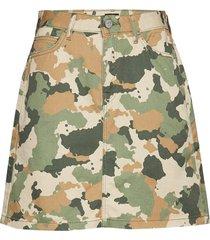 seasonal skirt kort kjol grön lee jeans