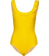 aurelie baddräkt badkläder gul marie jo