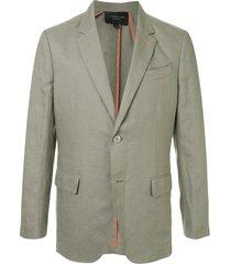shanghai tang western suit jacket - green