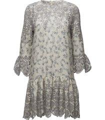 emile lace dress korte jurk multi/patroon ganni