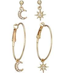 orecchini di goccia dell'orecchio della boemia geometric moon star charm nappa orecchini pendenti gioielli etnici per le donne