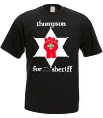 hunter s thompson for sheriff aspen 1970 bukowski gonzo fear loathing t shirt