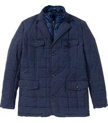 giacca trapuntata effetto 2 in 1 (blu) - bpc selection