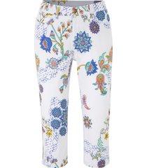jeans capri elasticizzati fantasia (bianco) - john baner jeanswear