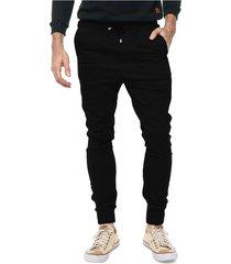 pantalón jogger negro vinson atenas