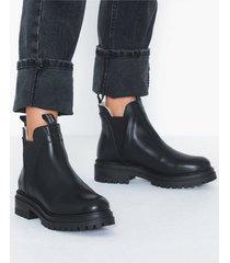 johnny bulls low elastic warm boot flat boots